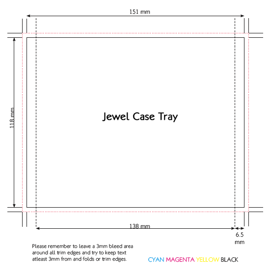 Cd jewel case template new calendar template site for Cd dimensions template